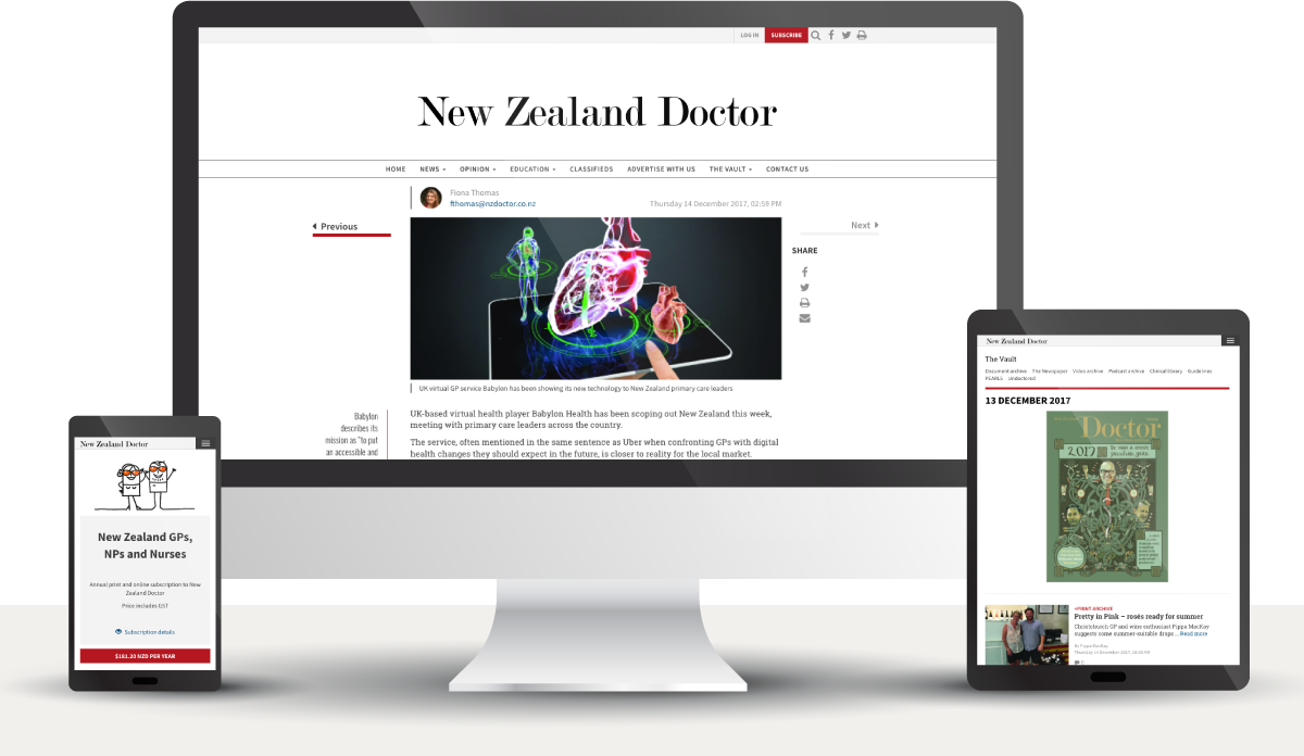 New Zealand Doctor's project